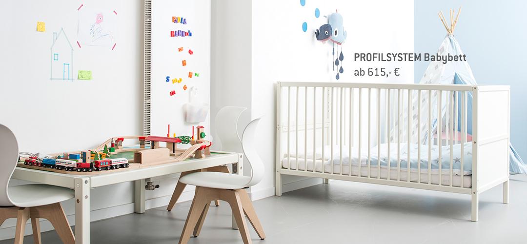 Profilsystem Babybett