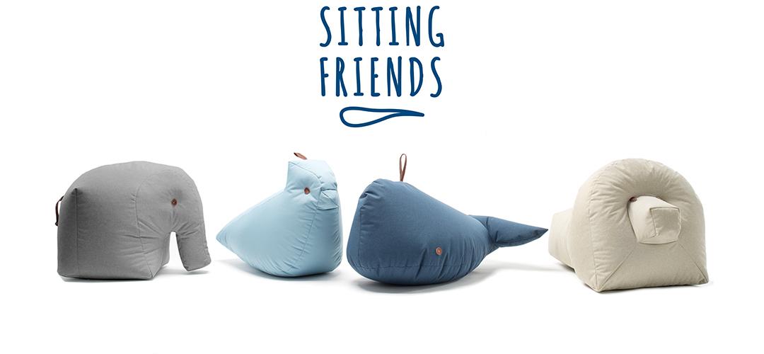 Sitting Friends